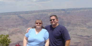 Jeff & Giliane at the Grand Canyon, '07